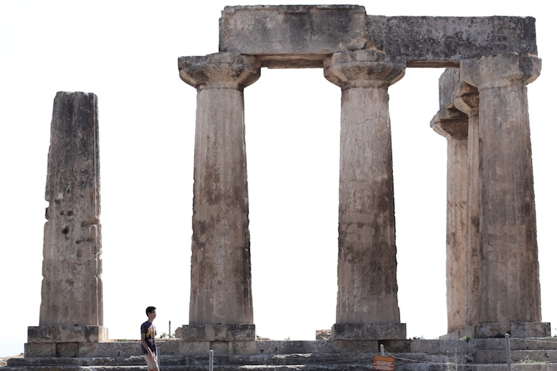 Temple of Apollo in Corinth (Eat Me. Drink Me.)