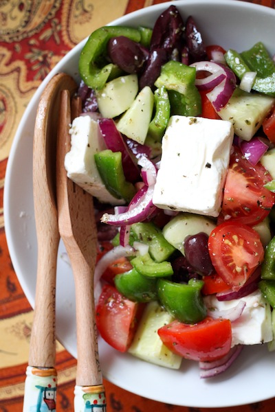 Greek salad recipe (Eat Me. Drink Me.)