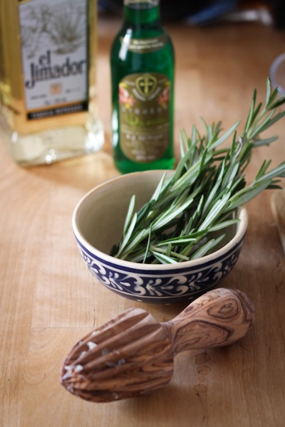 Rosemary, pistachio syrup, tequila (Eat Me. Drink Me.)