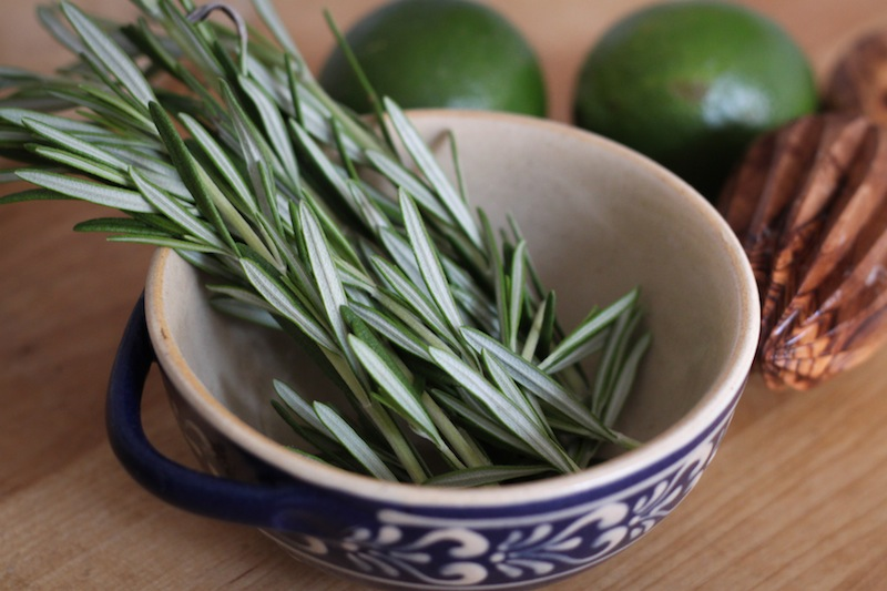 Rosemary and limes (Eat Me. Drink Me.)