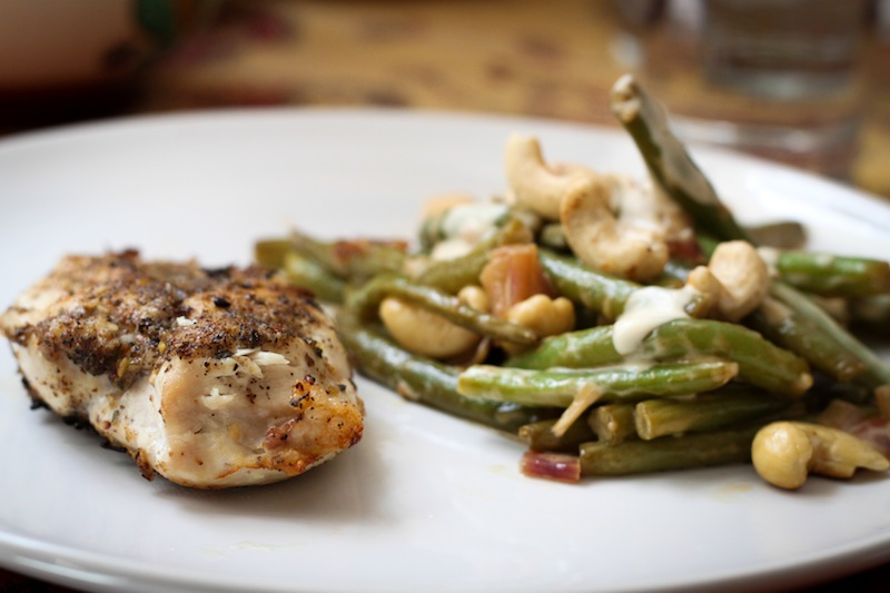 Chicken and green beans (Eat Me. Drink Me.)