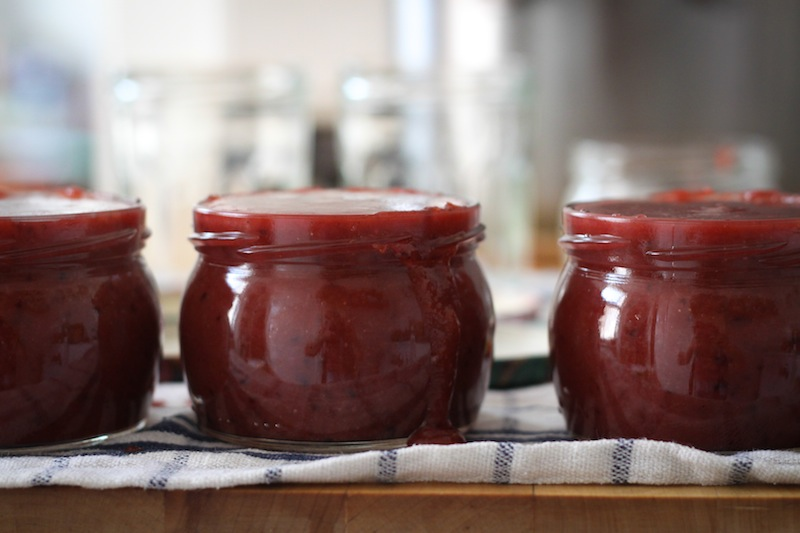 Homemade plum-walnut jam (Eat Me. Drink Me.)