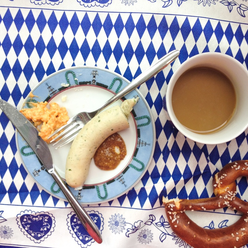 Oktoberfest breakfast (Eat Me. Drink Me.)