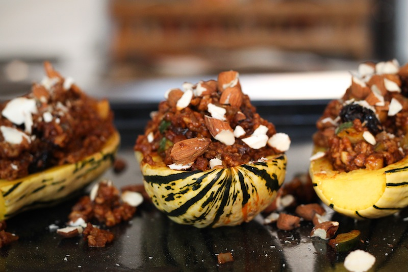 Moroccan-spiced stuffed delicata squash (Eat Me. Drink Me.)