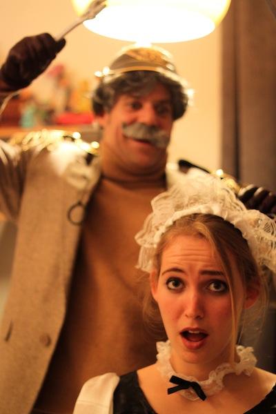 Colonel Mustard murders Yvette (Eat Me. Drink Me.)
