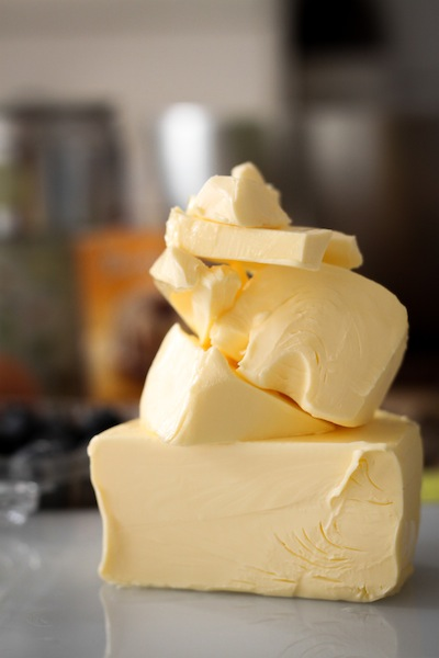 A stack of butter (Eat Me. Drink Me.)