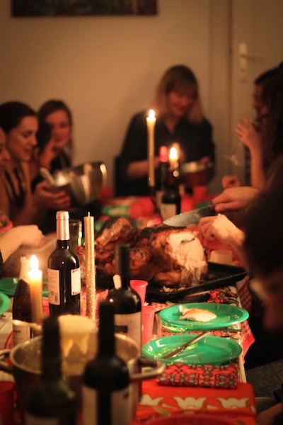 Carving the turkey (Eat Me. Drink Me.)