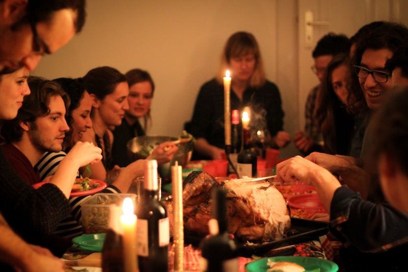 Thanksgiving dinner (Eat Me. Drink Me.)