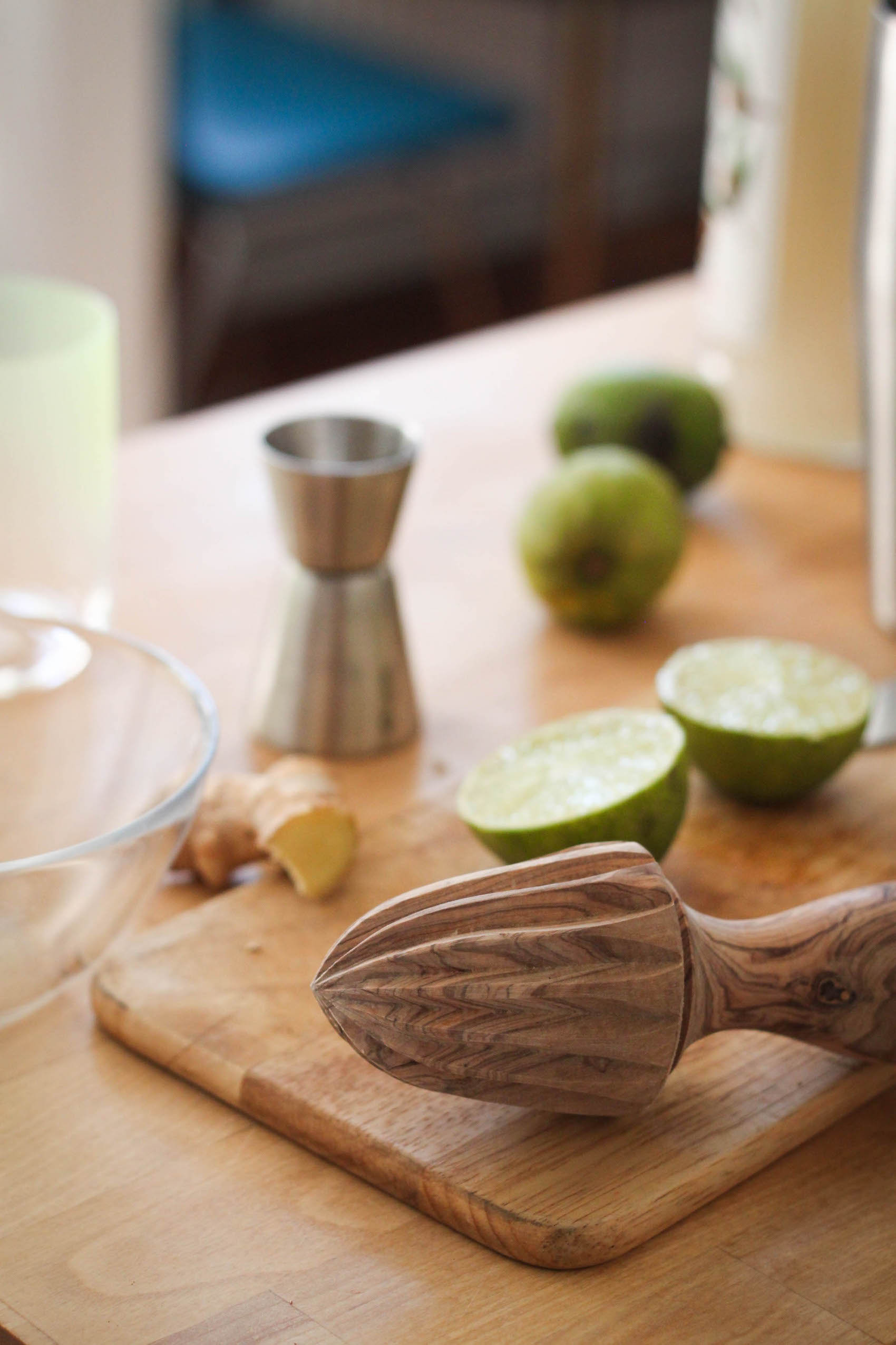 Juicing limes (Eat Me. Drink Me.)