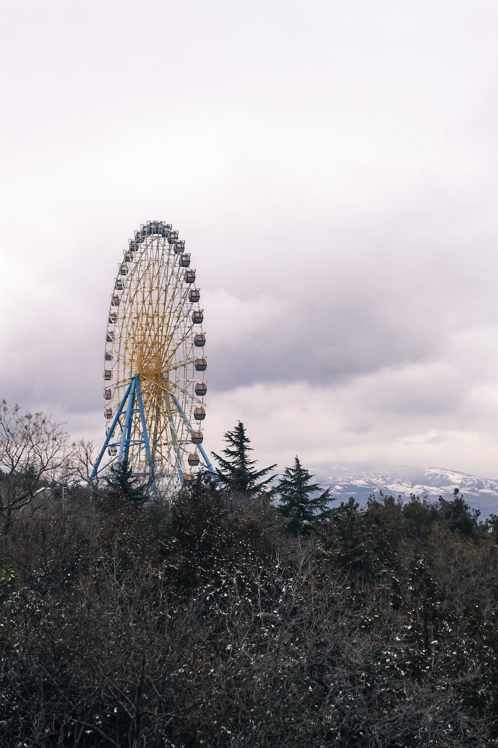 Ferris Wheel in Tbilisi (Eat Me. Drink Me.)