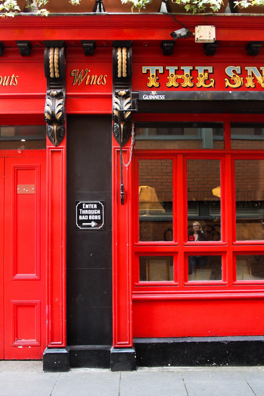 A Dublin pub (Eat Me. Drink Me.)