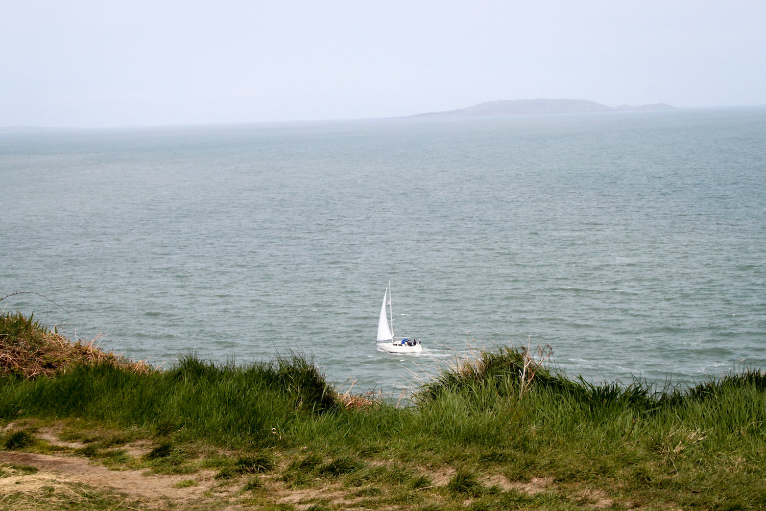 A sailboat in Howth, Ireland (Eat Me. Drink Me.)