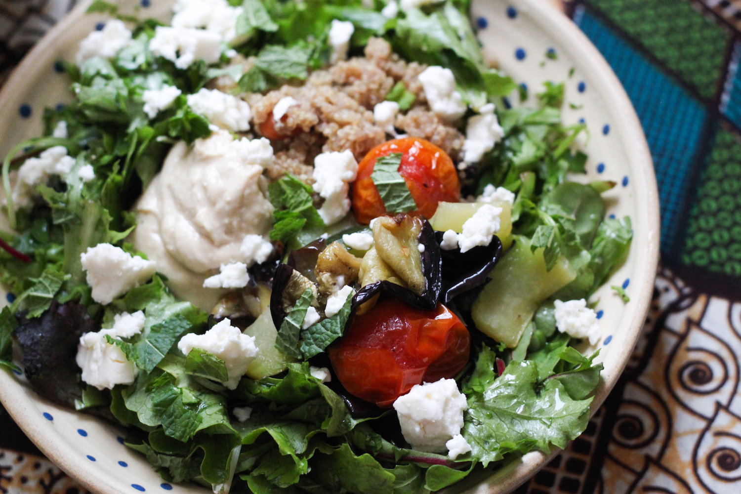 Fast and healthy summer salad (Eat Me. Drink Me.)