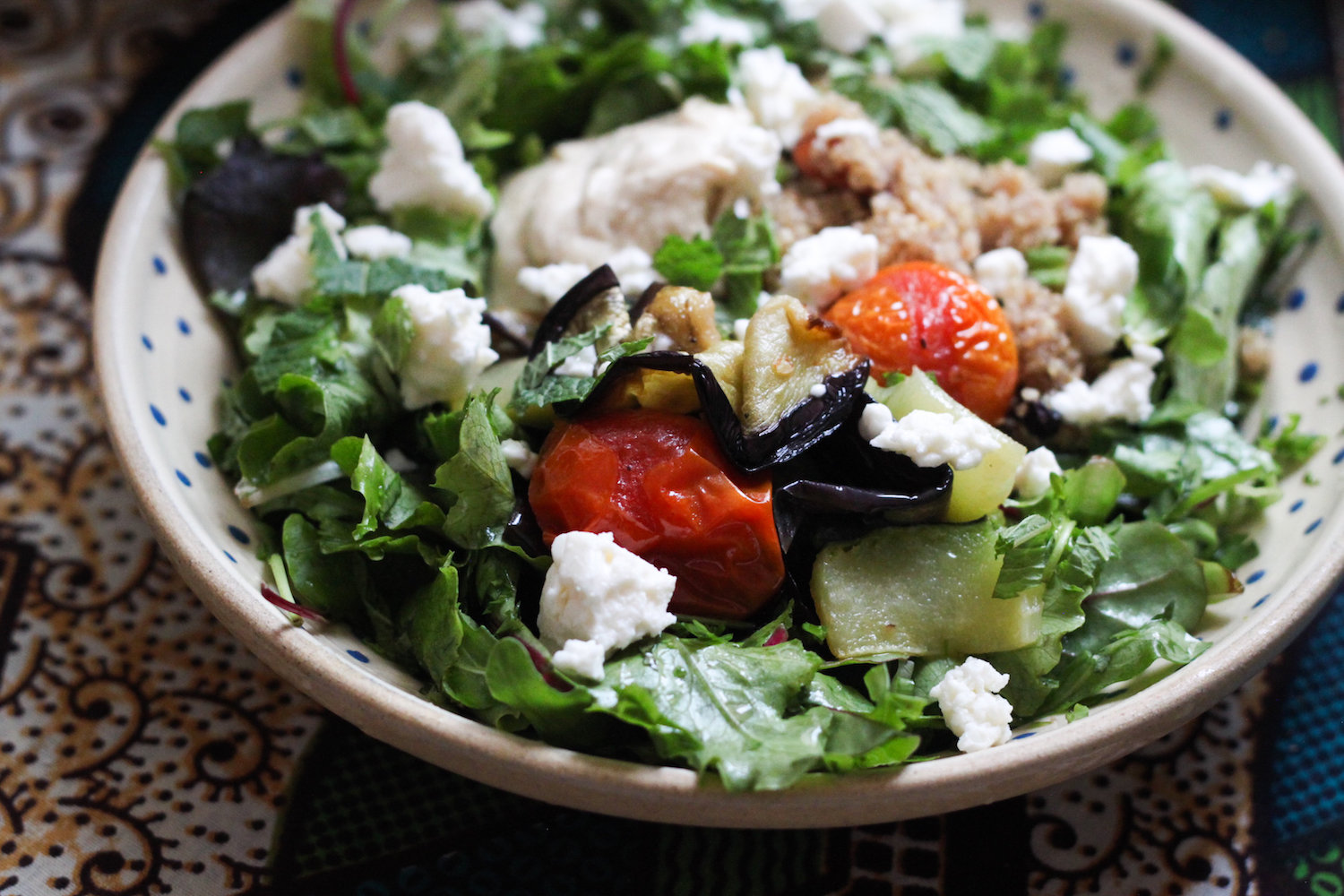 Mediterranean summer salad (Eat Me. Drink Me.)