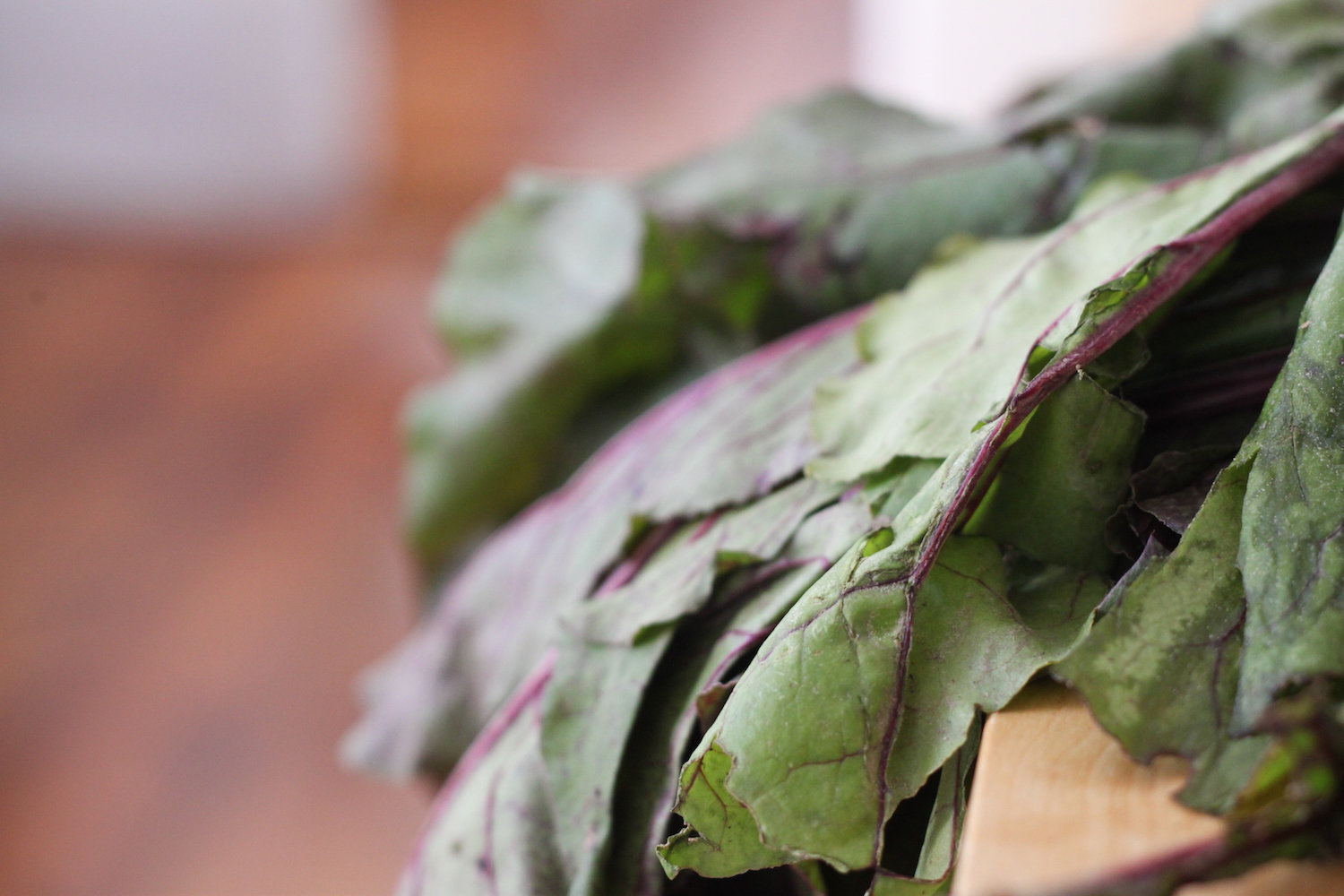 Beet greens (Eat Me. Drink Me.)