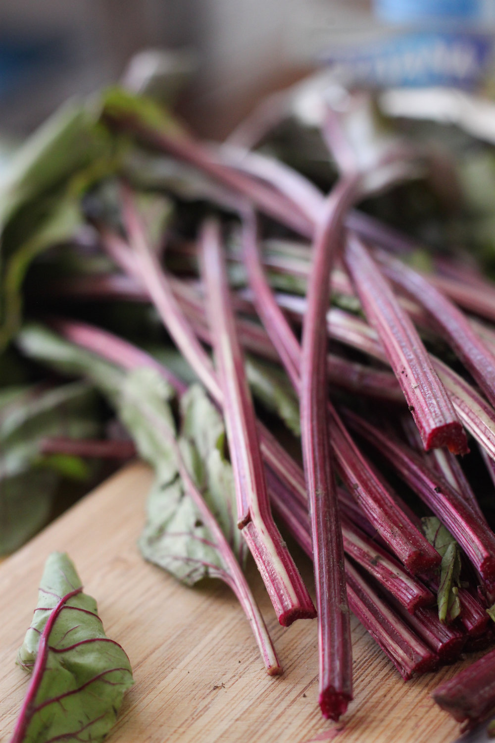 Ribbed beet greens (Eat Me. Drink Me.)