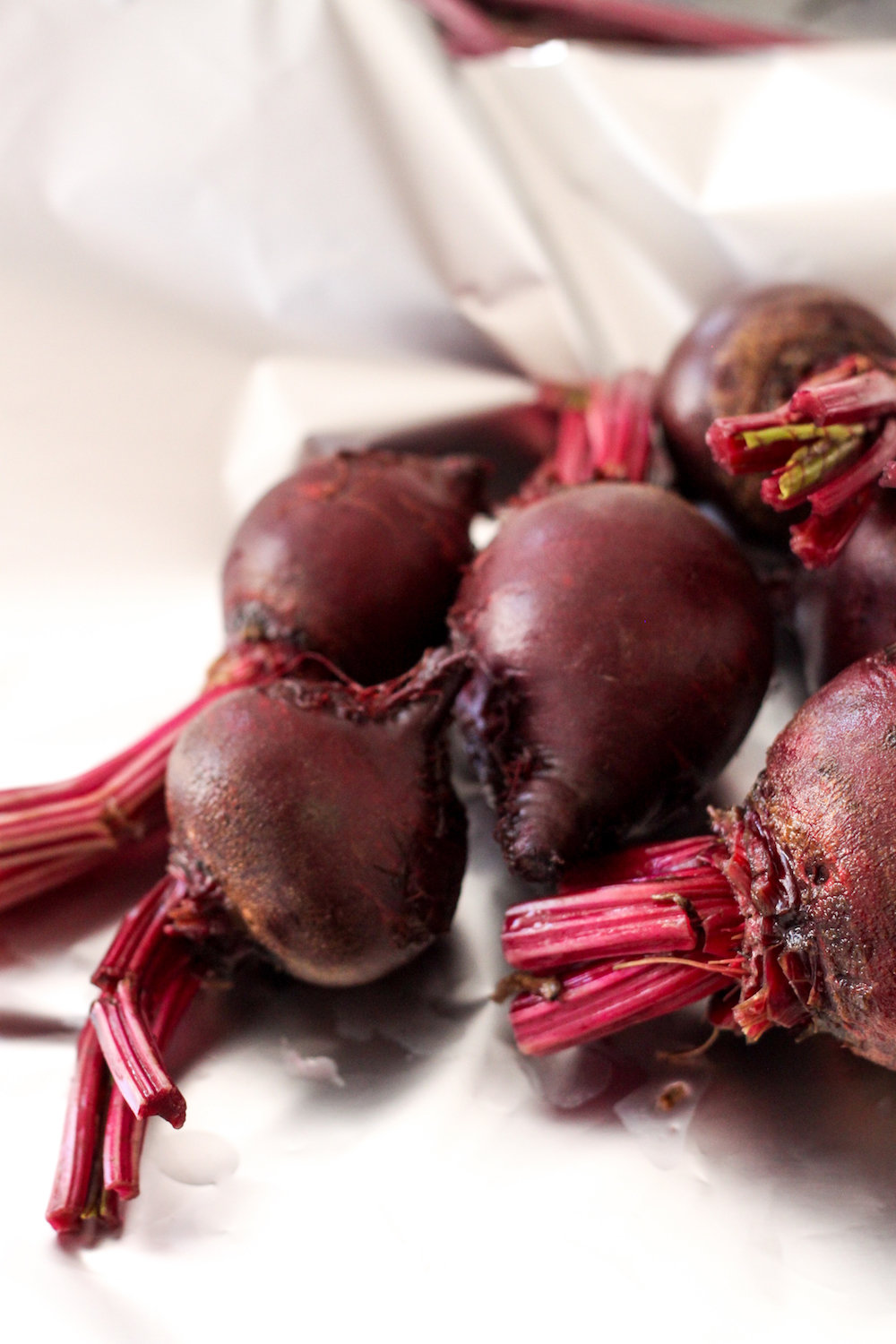 Beets ready to roast (Eat Me. Drink Me.)