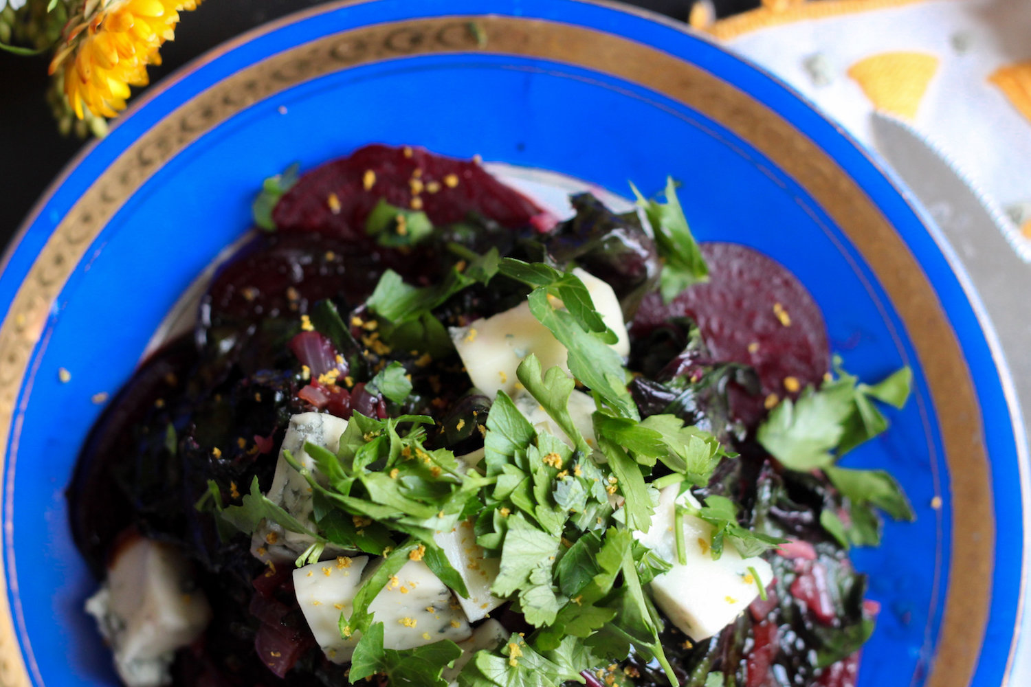 Roasted beet salad (Eat Me. Drink Me.)