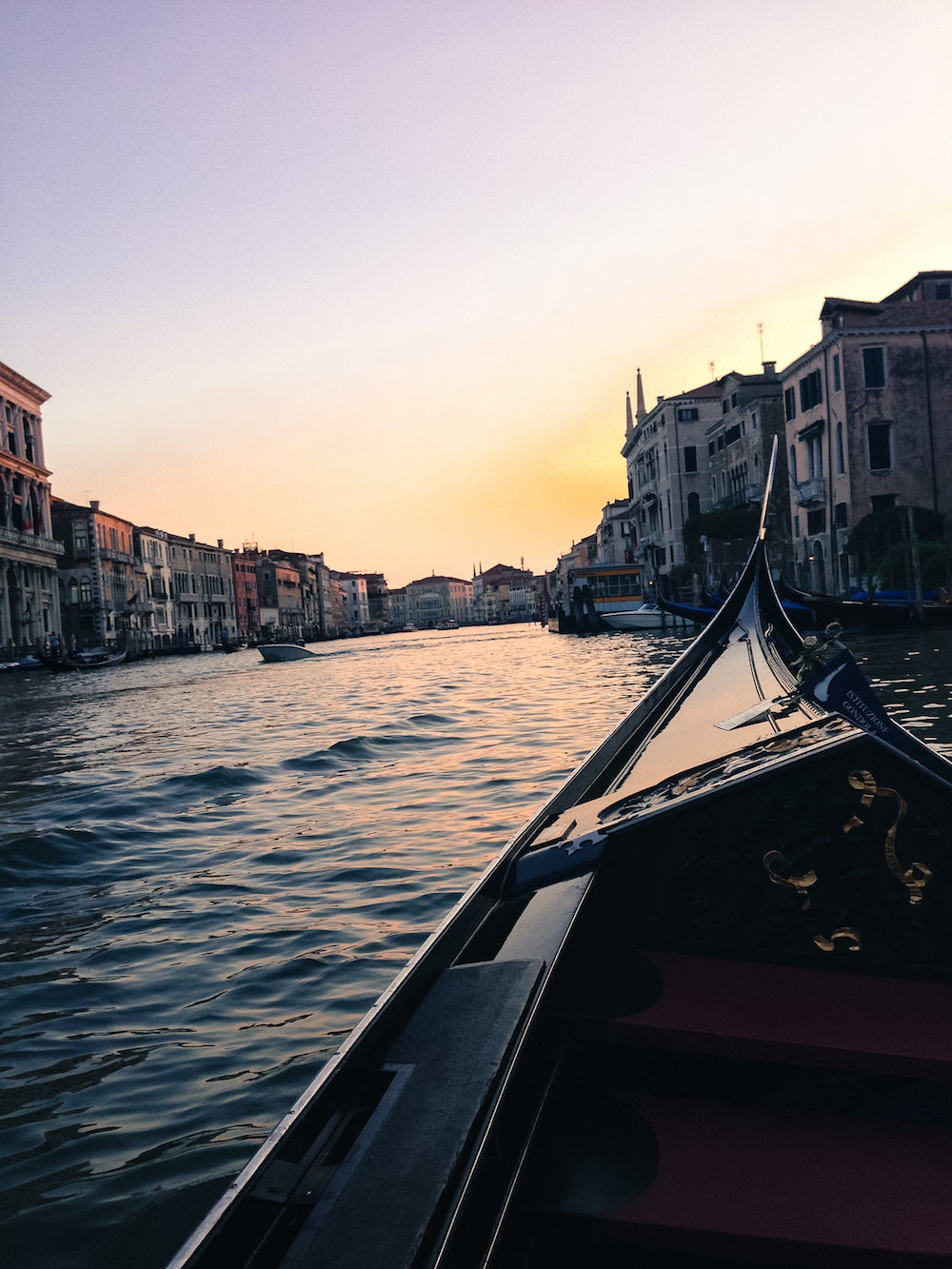 Gondola ride in Venice (Eat Me. Drink Me.)