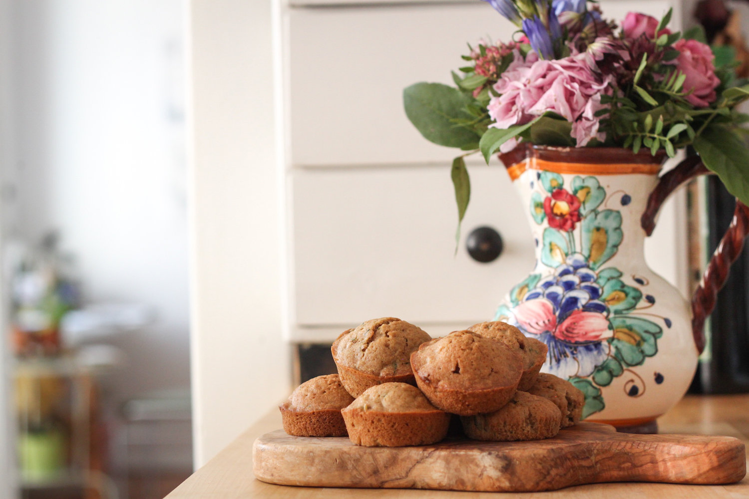 Zucchini bread muffins (Eat Me. Drink Me.)