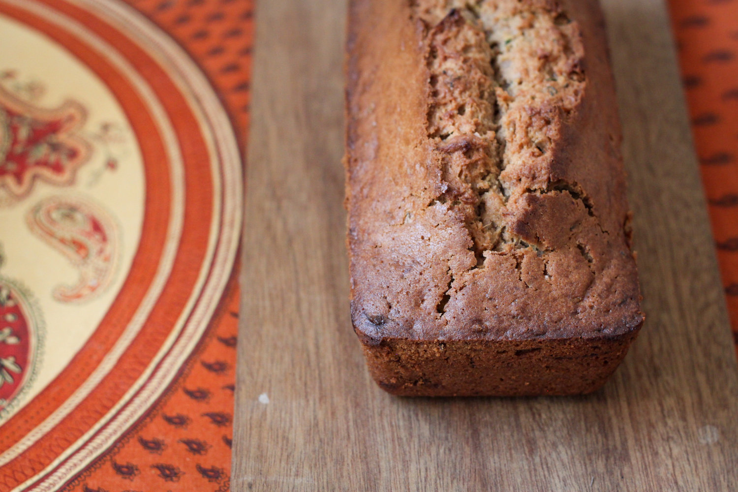 Zucchini bread recipe (Eat Me. Drink Me.)