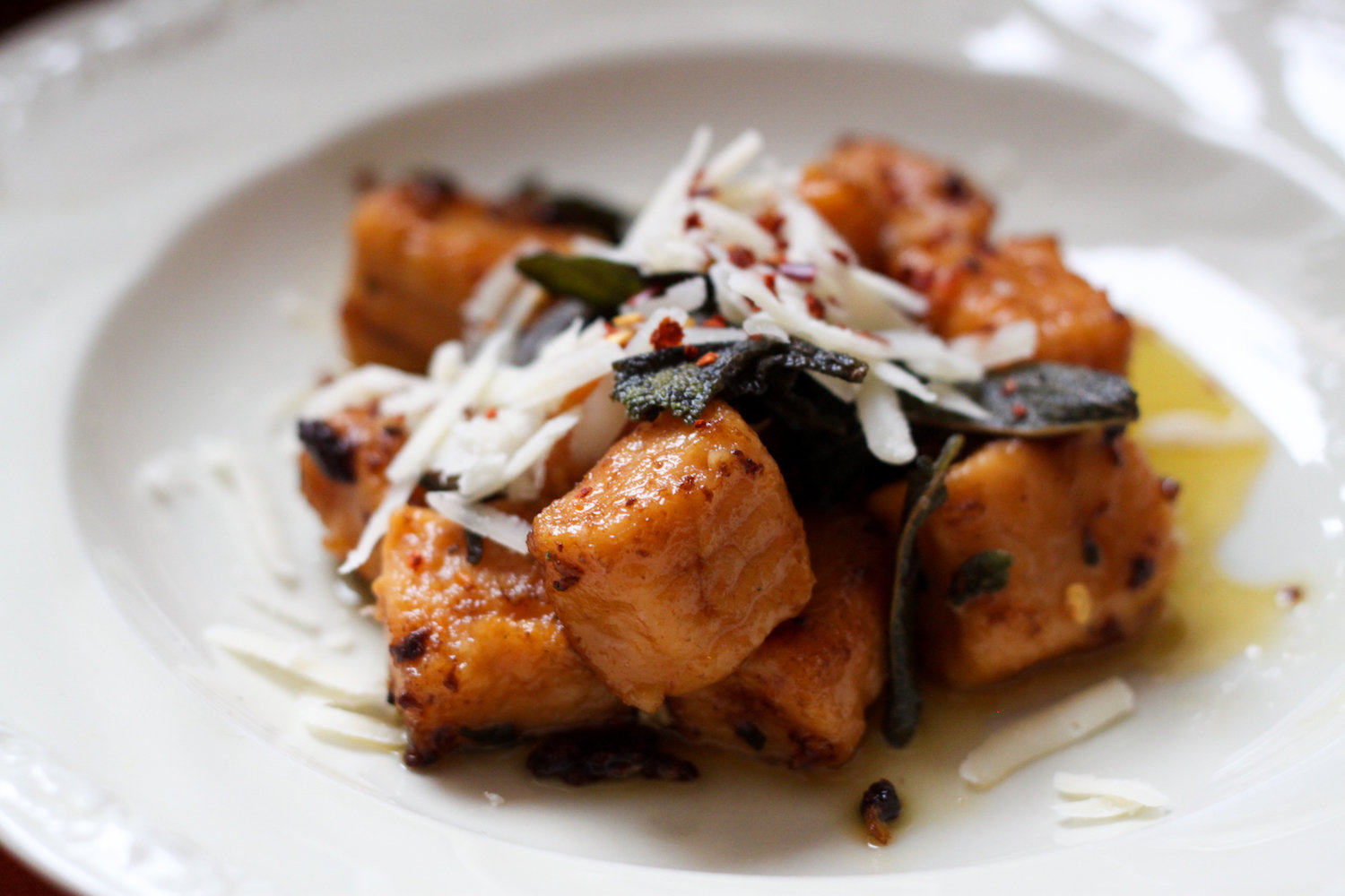 Homemade sweet potato gnocchi (Eat Me. Drink Me.)