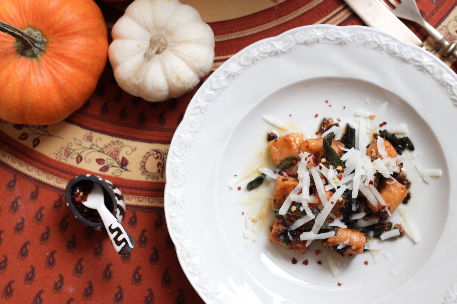 Sweet potato gnocchi (Eat Me. Drink Me.)