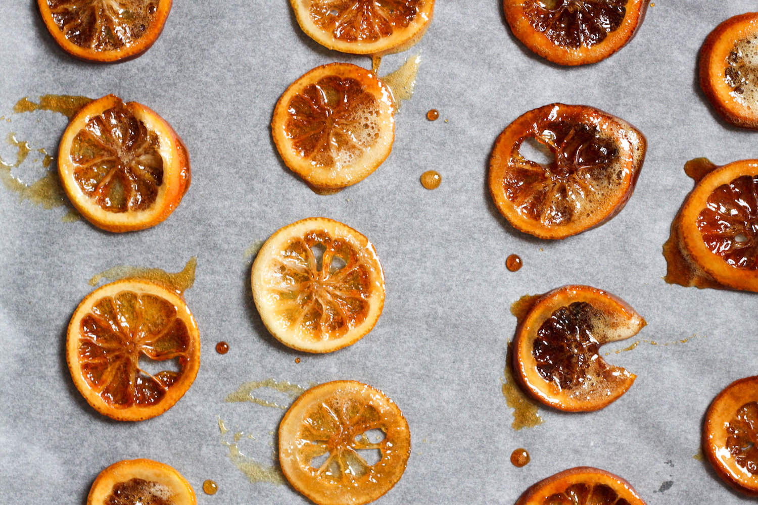 Candied lemon slices (Eat Me. Drink Me.)