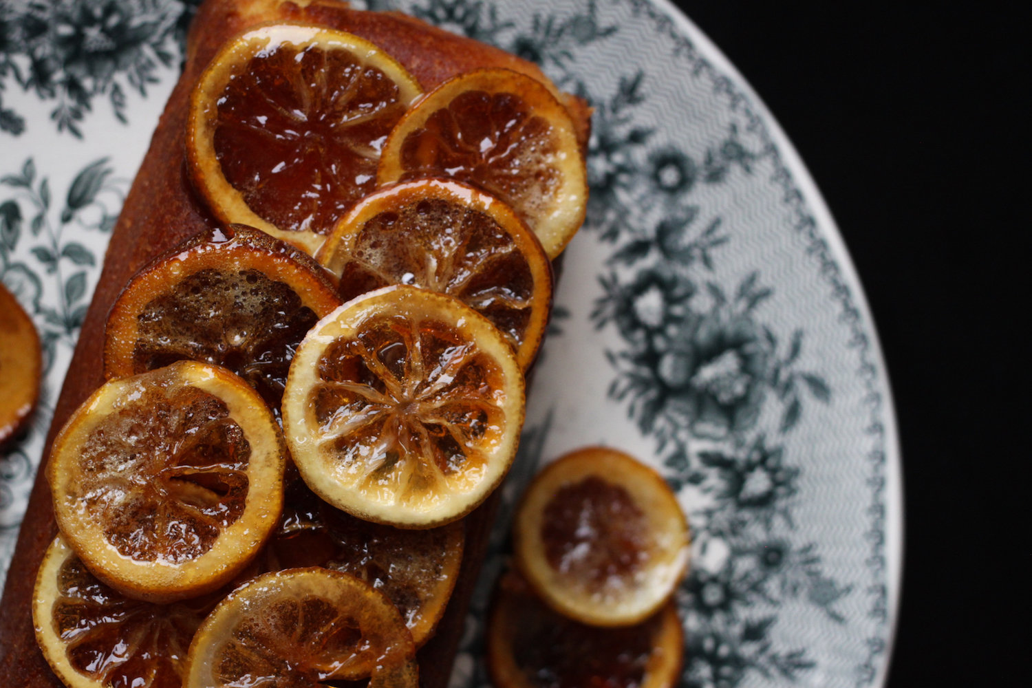 Candied lemon cake recipe (Eat Me. Drink Me.)