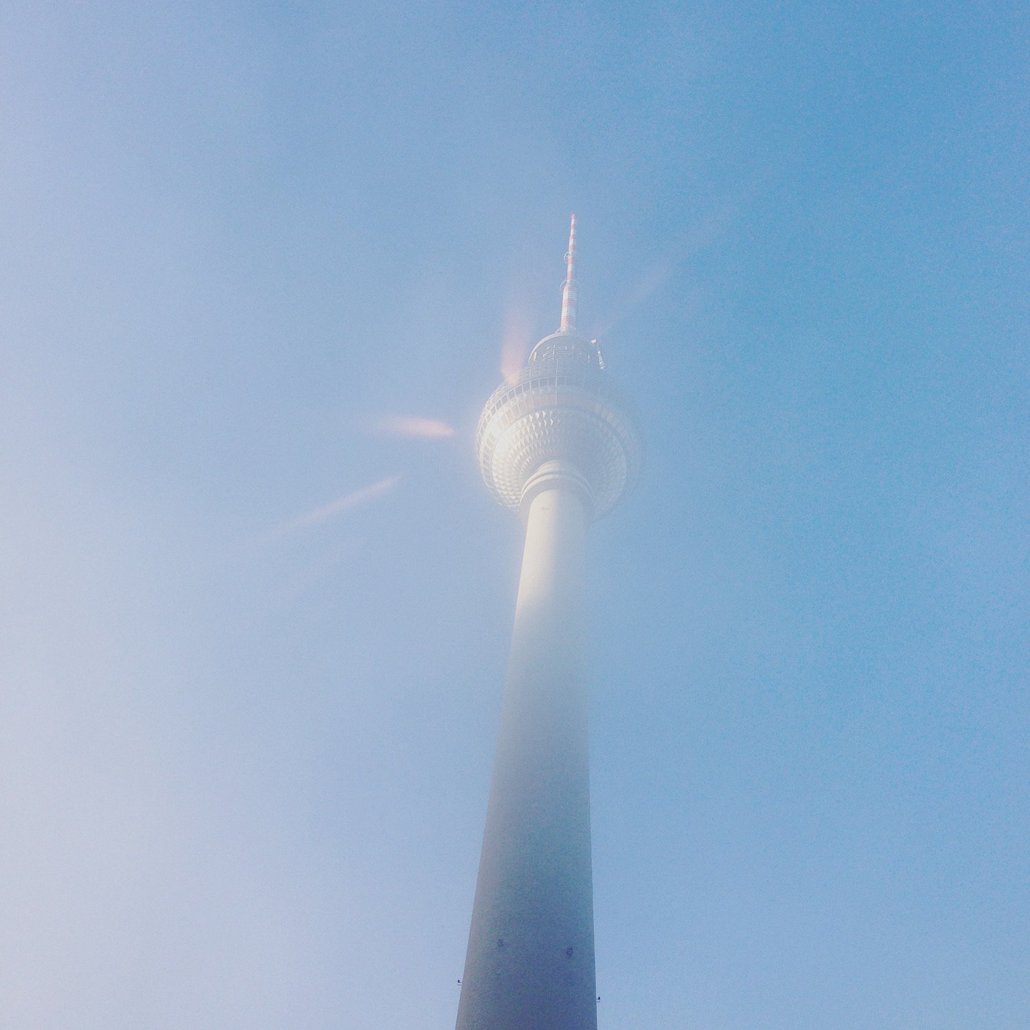 The Berlin TV Tower at dawn (Eat Me. Drink Me.)