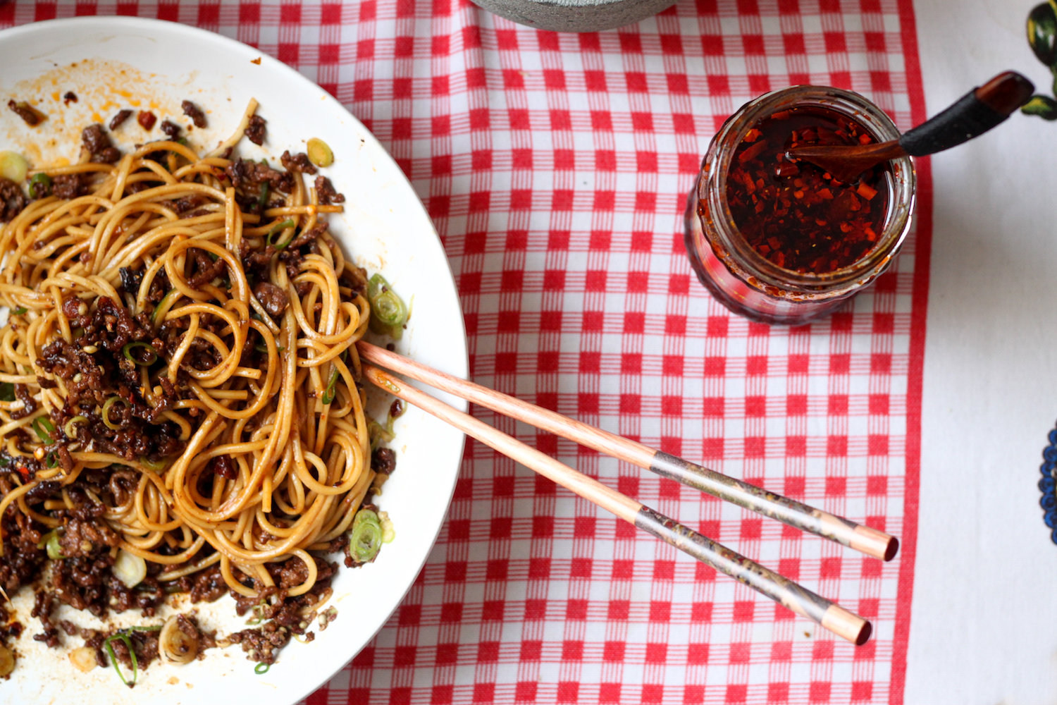 Ramen noodles with Sichuan pepper (Eat Me. Drink Me.)