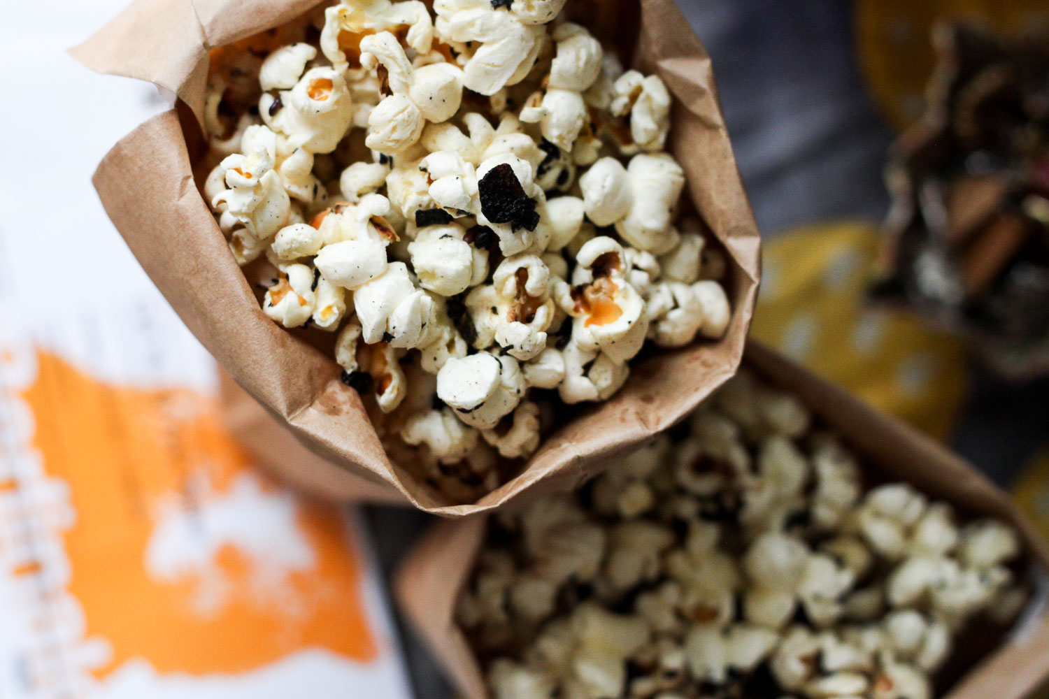 Movie snacks popcorn (Eat Me. Drink Me.)