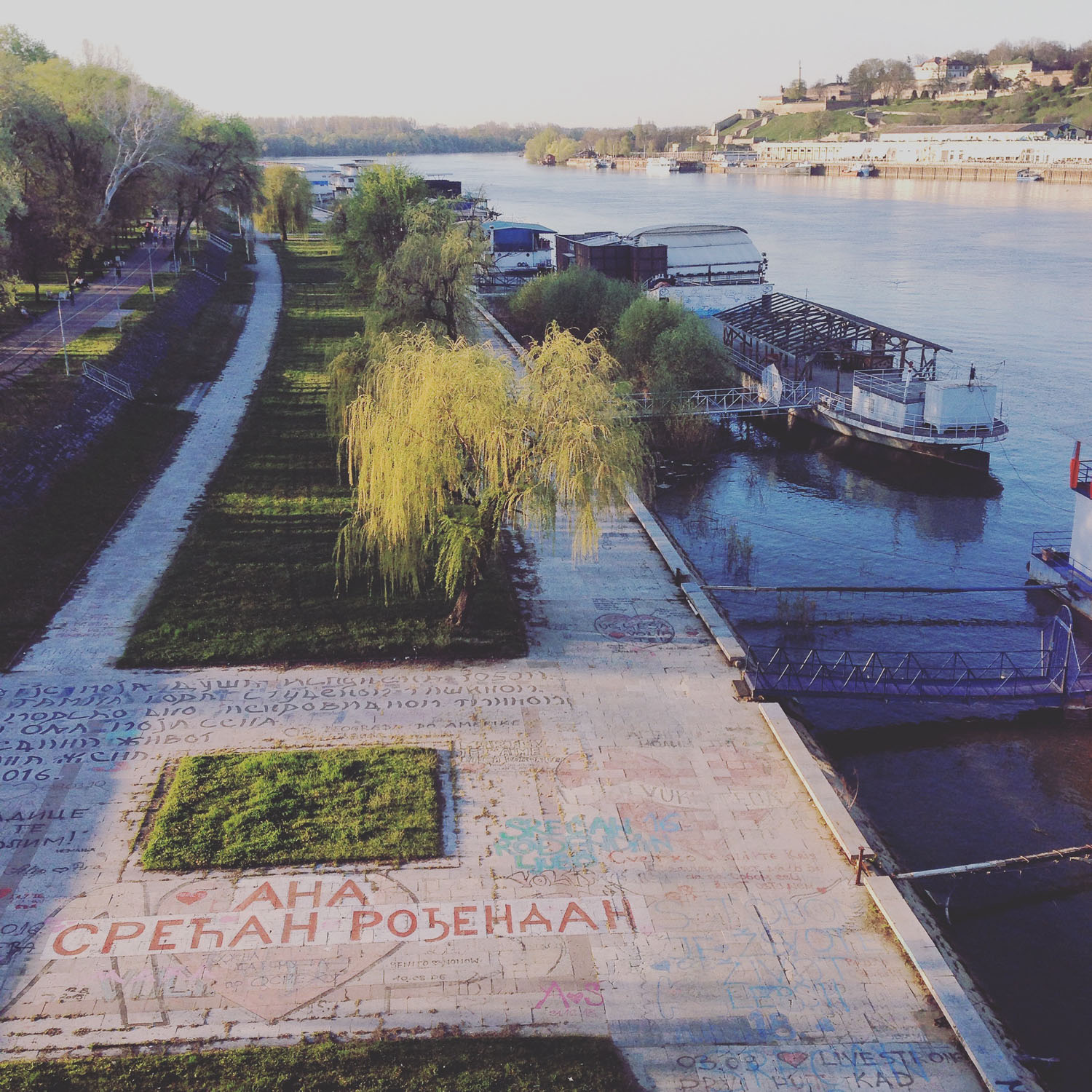The Danube in Belgrade (Eat Me. Drink Me.)