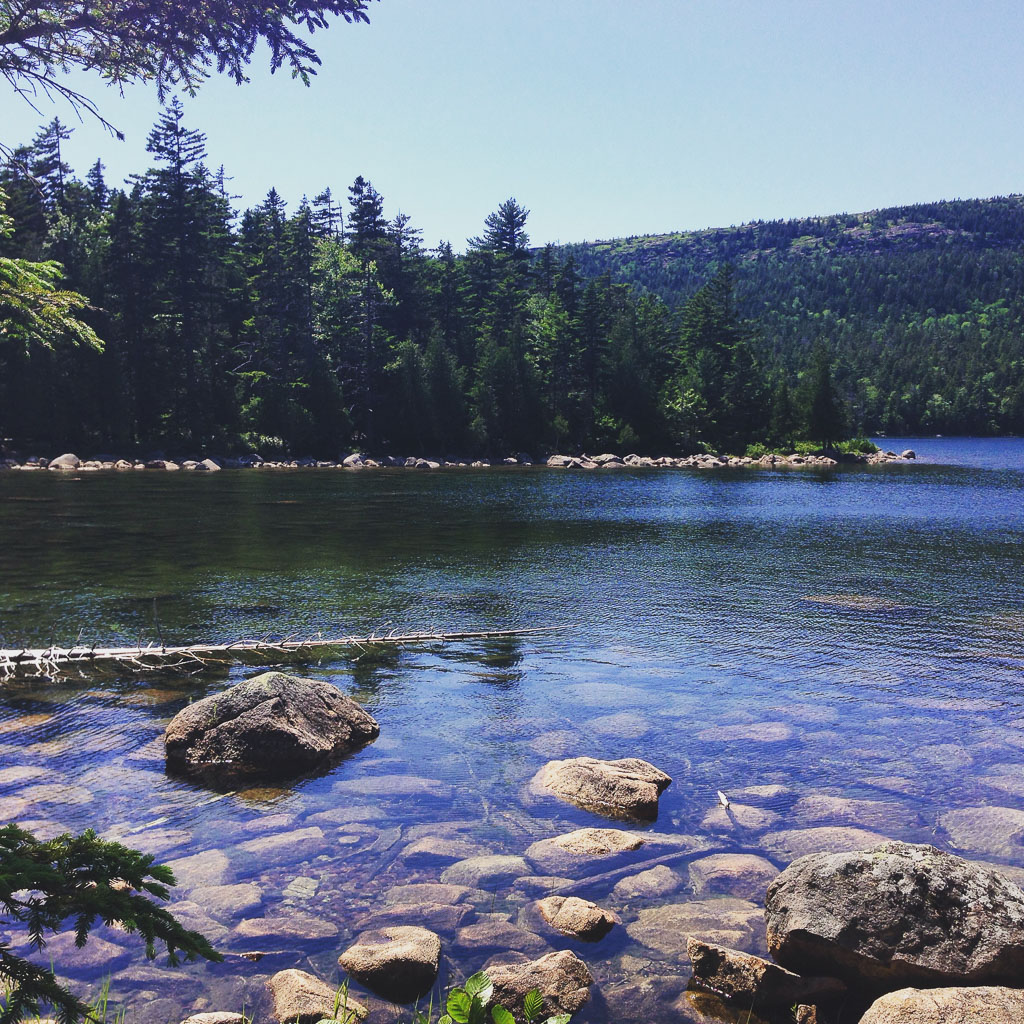 Jordan Pond, Maine (Eat Me. Drink Me.)
