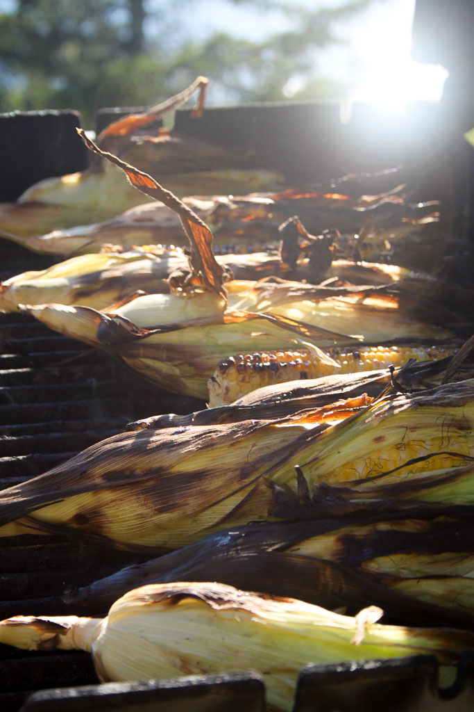 Corn on the grill (Eat Me. Drink Me.)