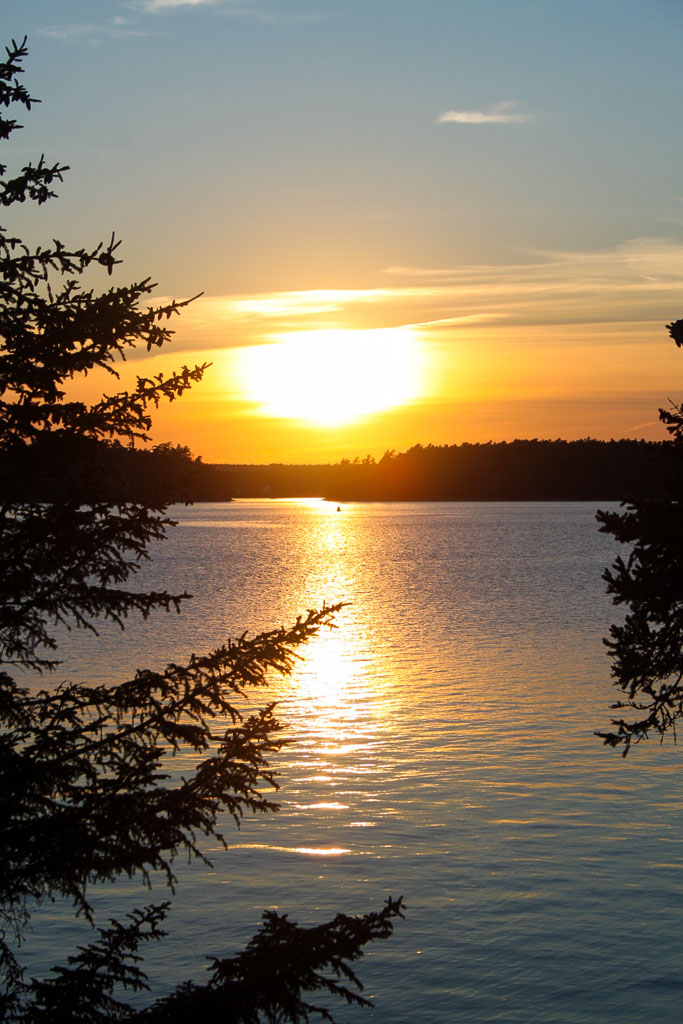 Sunset on Mt. Desert Island, Maine (Eat Me. Drink Me.)