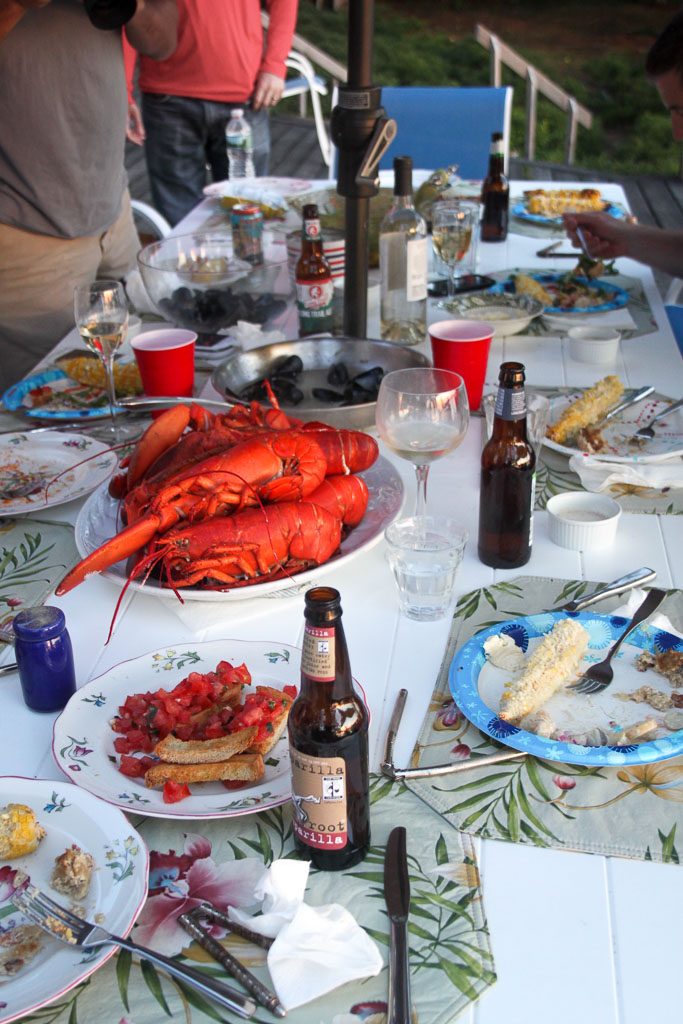 Maine lobster boil dinner (Eat Me. Drink Me.)