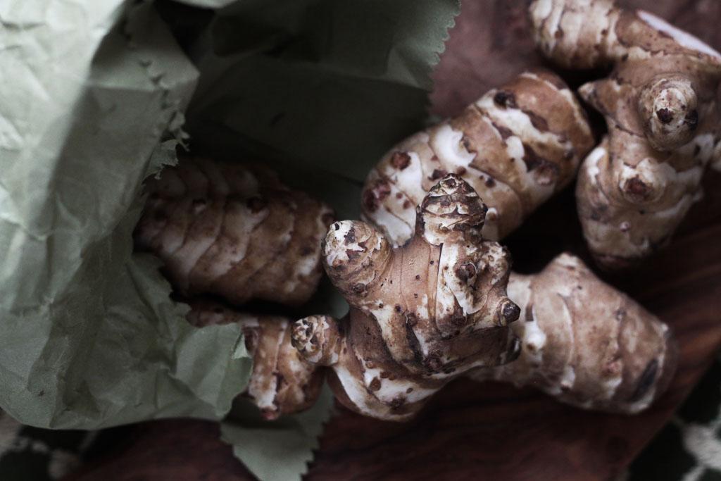 Jerusalem artichokes (Eat Me. Drink Me.)