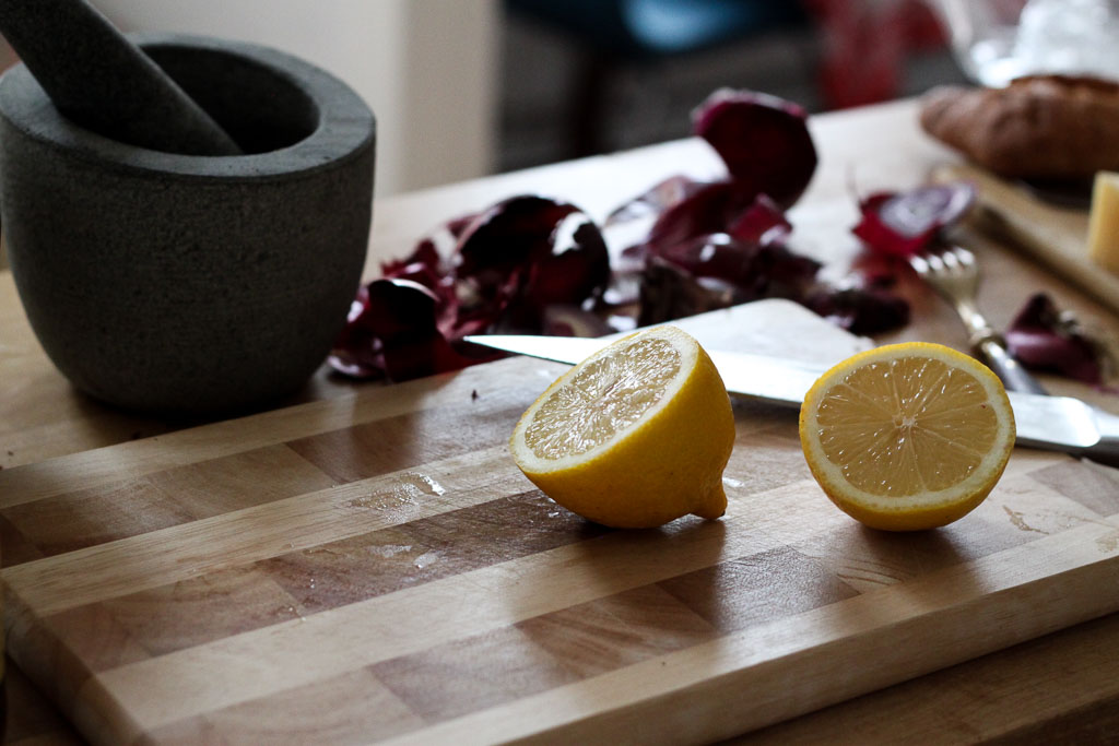 Lemons for vinaigrette (eat Me. Drink Me.)
