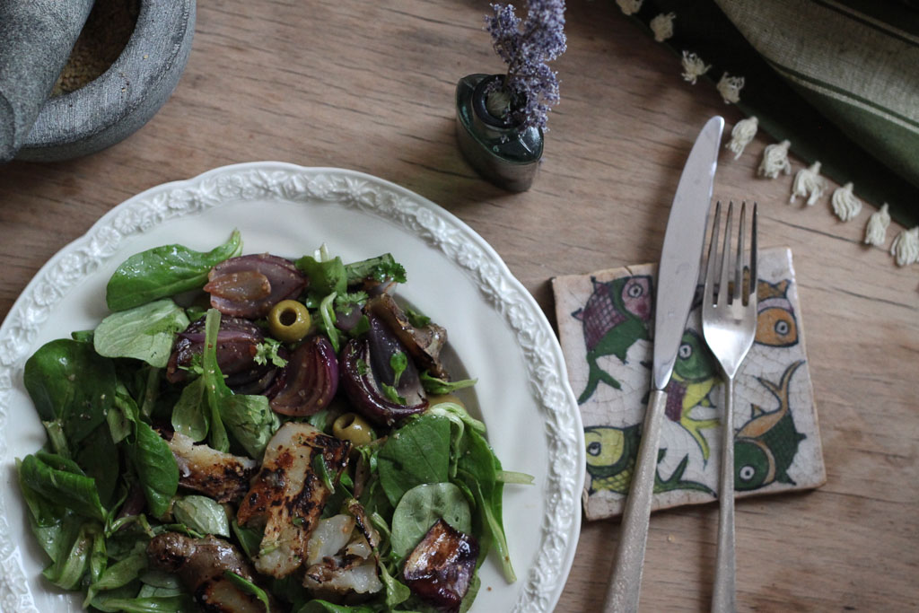 Jerusalem artichoke salad (Eat Me. Drink Me.)