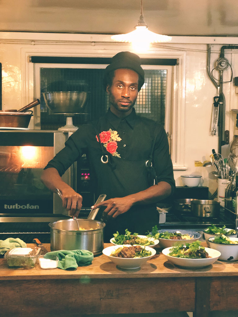 Chef DeVonn Francis of Yardy, NYC (photo courtesy of Counter Service)