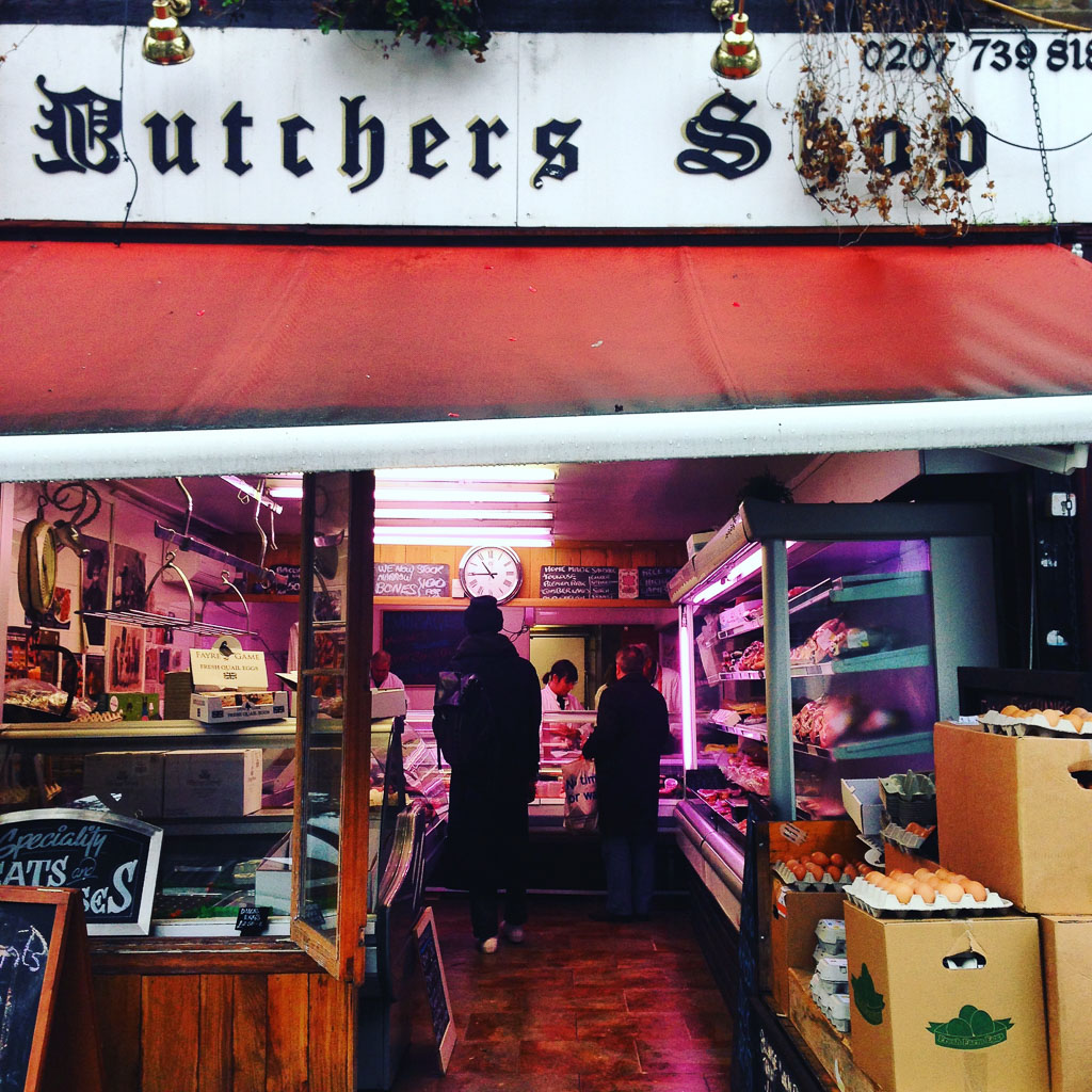 Butcher Shop, Bethnal Green (Eat Me. Drink Me.)