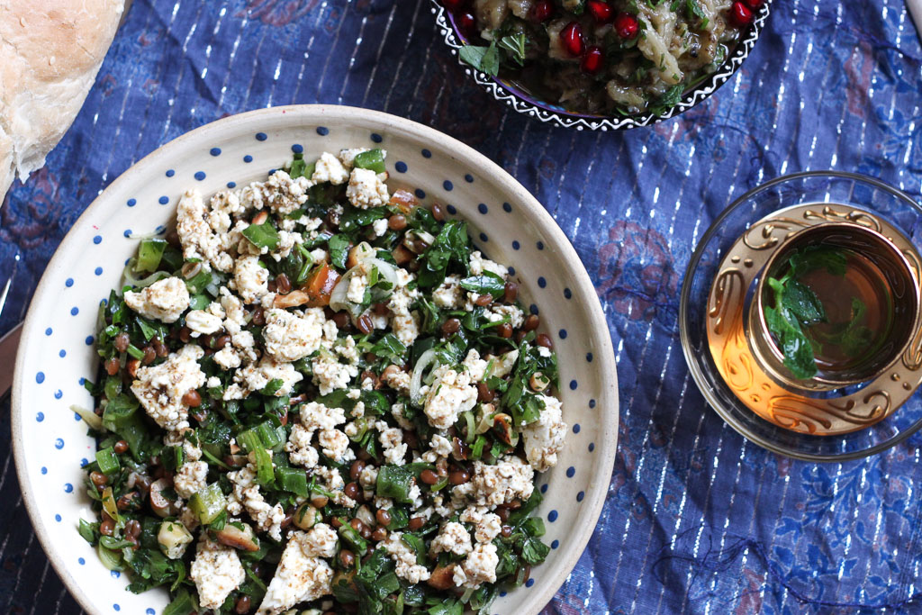 Wheat Berry & Parsley Salad (Eat Me. Drink Me.)