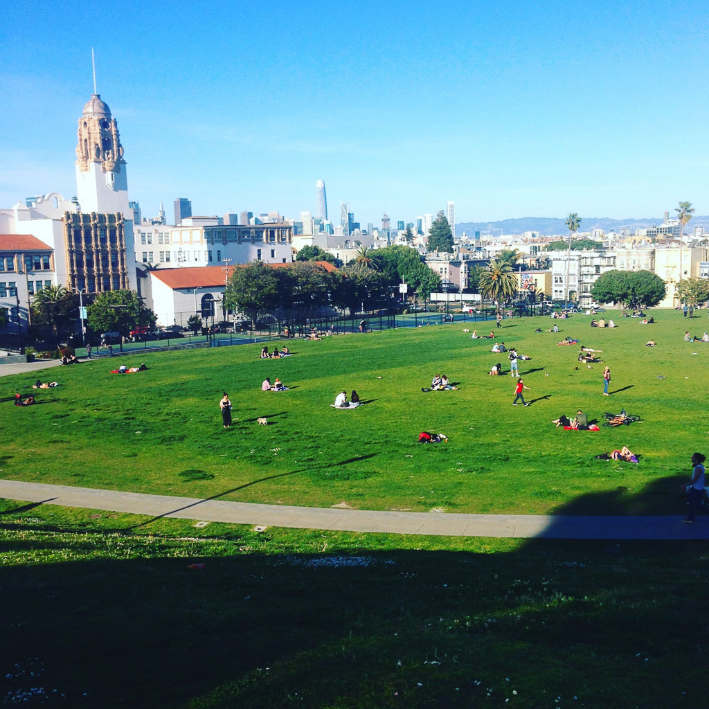 Dolores Park, SF (Eat Me. Drink Me.)