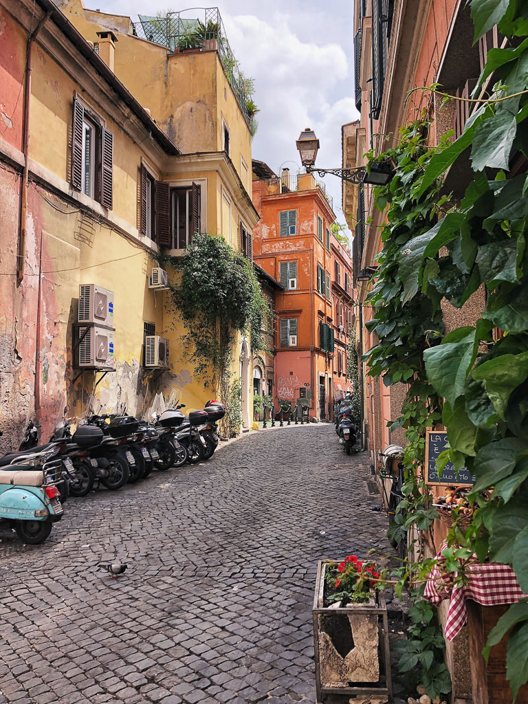 Streets of Trastevere, Rome (Photo courtesy of Counter Service)