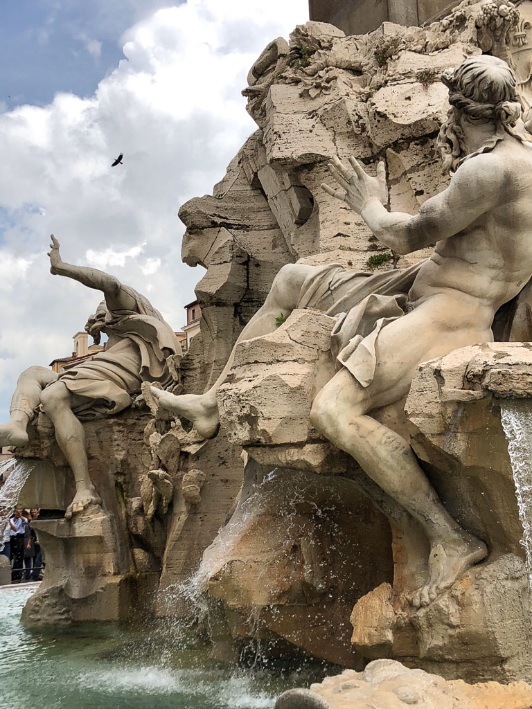 Fountain drama, Rome (Photo courtesy of Counter Service)