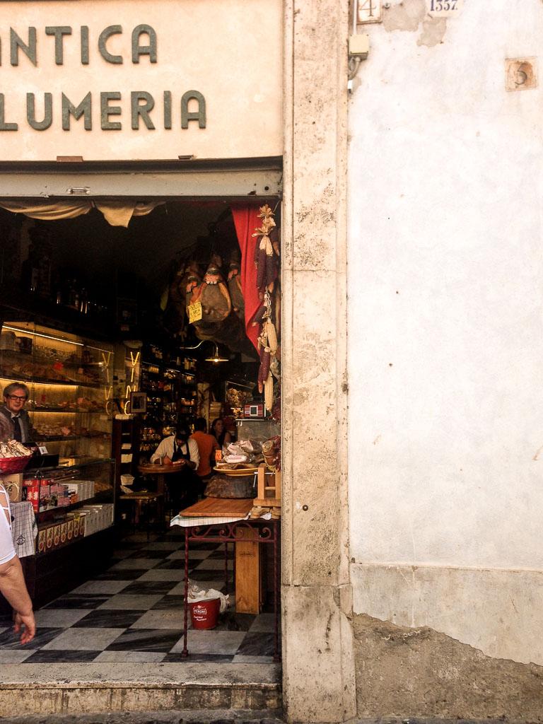 Salumeria, Rome, Italy (Eat Me. Drink Me.)