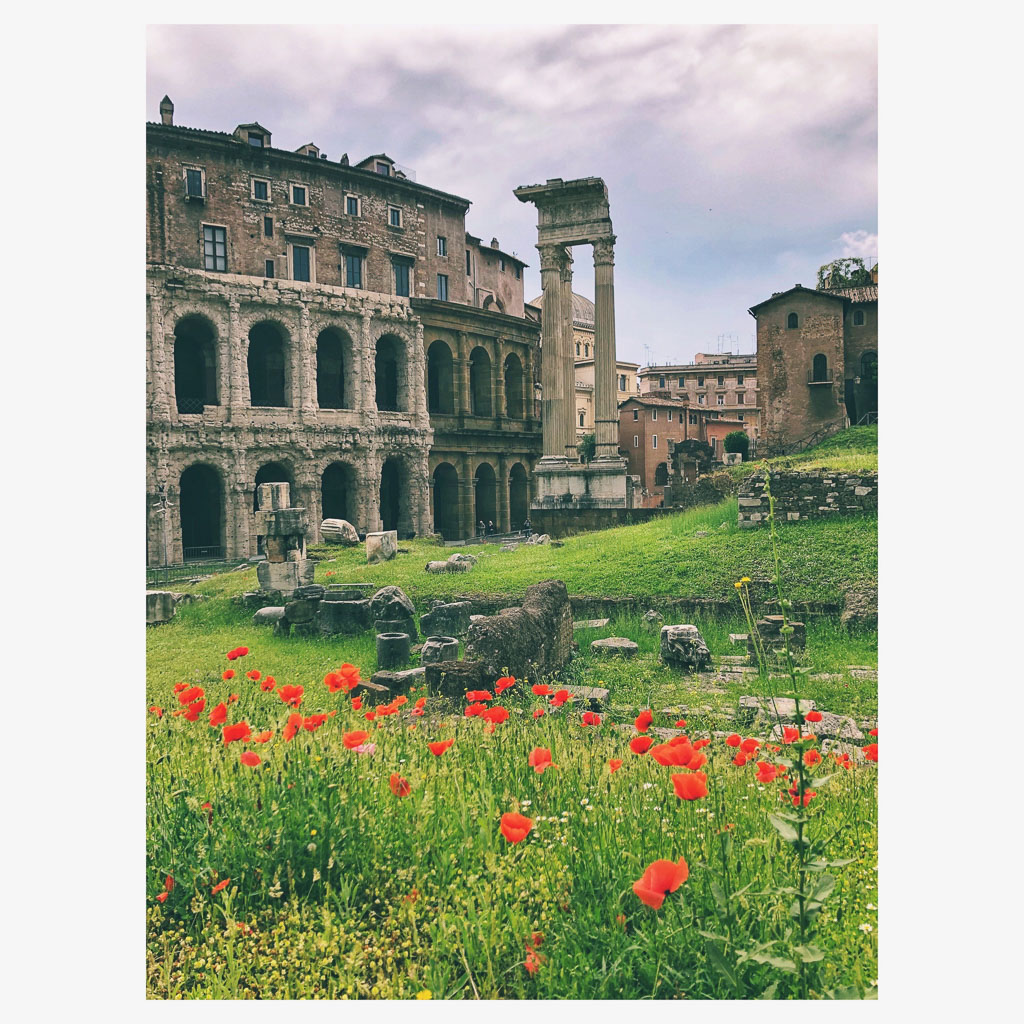 Ruins on every corner, Rome (Photo courtesy of Counter Service)