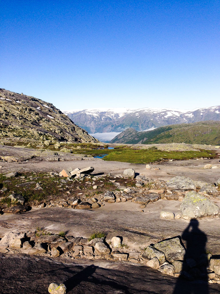 View on the hike, Trolltunga, Norway (Eat Me. Drink Me.)
