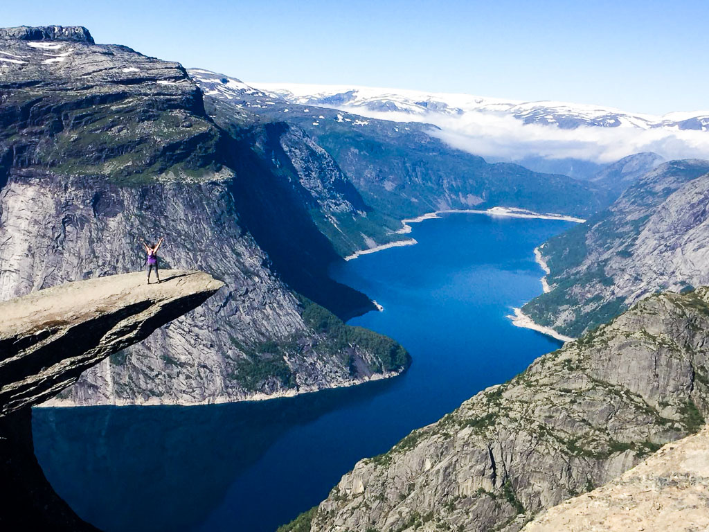 On Trolltunga (Eat Me. Drink Me.)